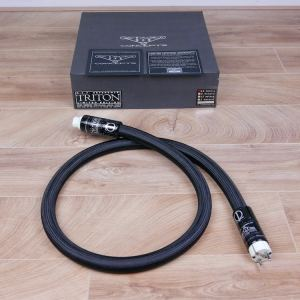 Stage III Concepts A.S.P. Reference Triton Limited Edition highend audio power cable 1,5 metre 1