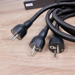 AudioQuest NRG-10 audio power cables 0,9 metre (three available) 3