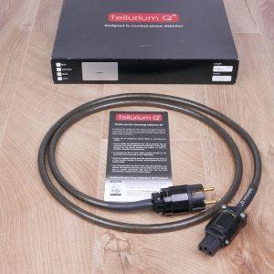 Tellurium Q Black audio power cable 1,5 metre 1