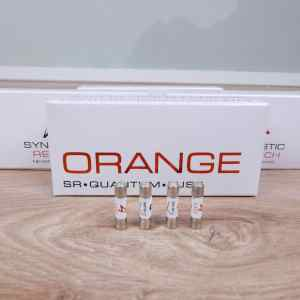 Synergistic Research Orange audio Quantum Fuse 5x20mm Slo-blow 1.6A 250V (4 available) 2