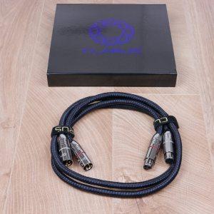 Clarus Aqua CAB audio interconnects XLR 1,0 metre NEW 1