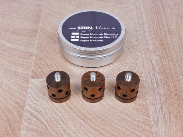 Stein Music Super Naturals Plus M8 audio tuning feet set of 3 1