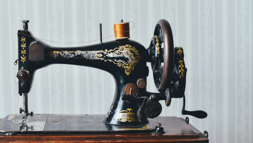 history of the sewing