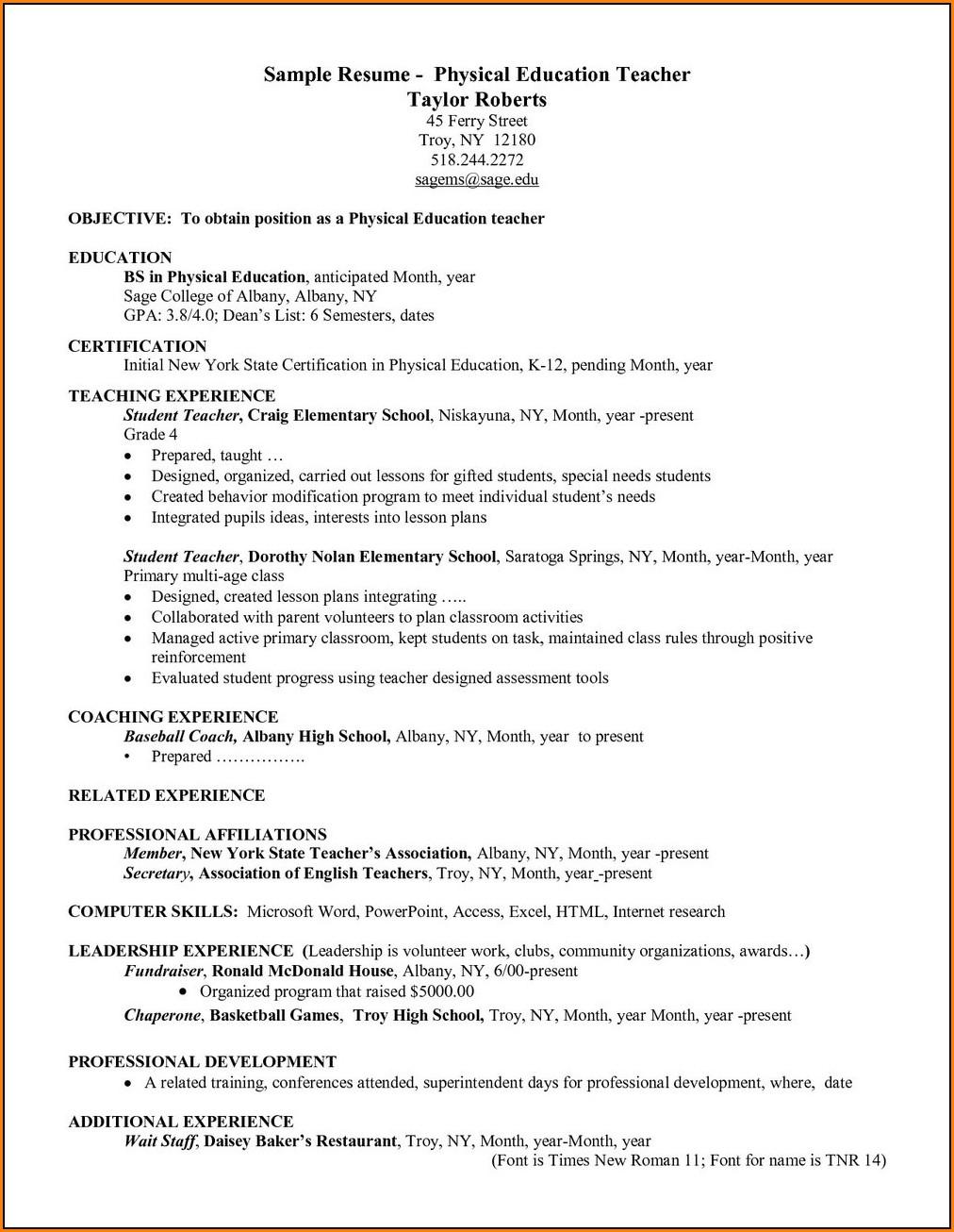 enterprise rent a car resume examples