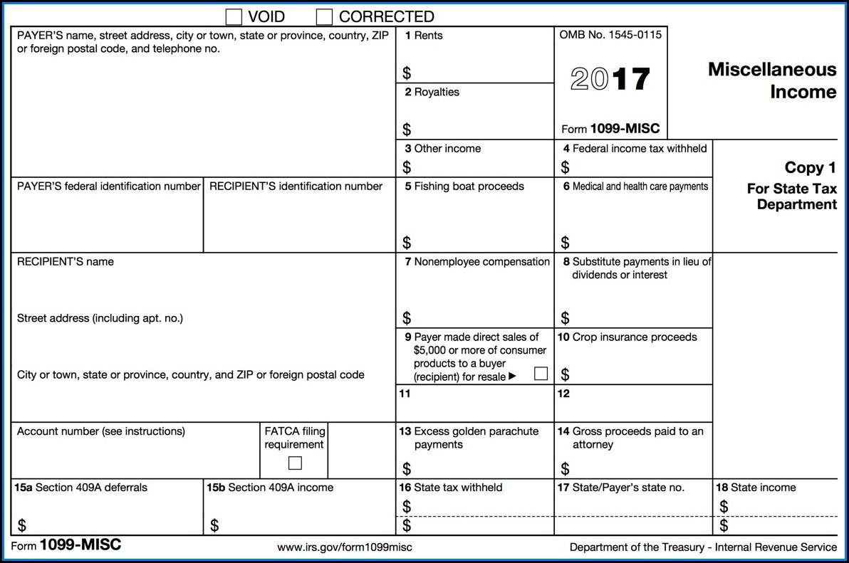 Free Printable Tax Form