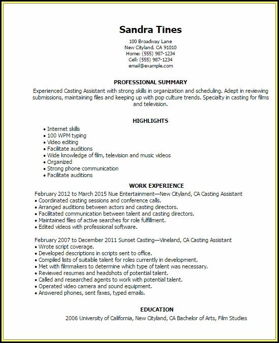 mlm resume sample