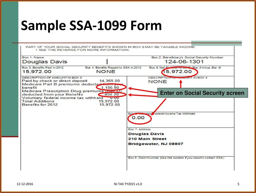Social Security Forms For