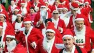 British Heart Foundation - Santa jog