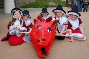 Oriel y Parc Gallery and Visitor Centre, St David's Day Dragon Parade