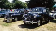 Classic and vintage cars at Brodsworth Hall for Father's Day