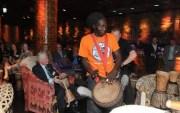 Drum Cafe event at Shaka Zulu, London South African restaurant