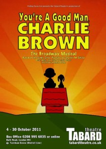 You're A Good Man, Charlie Brown at the Tabard Theatre