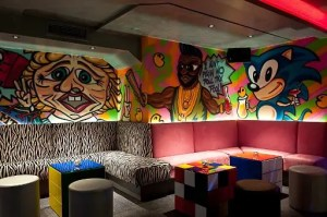 Maggie's 80s themed nightclub in London