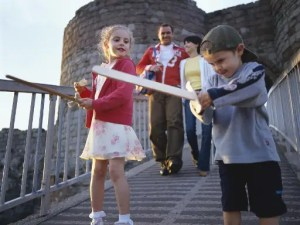 Medieval Royal Pageant at Beeston Castle and Woodland Park in Cheshire