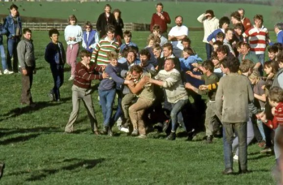 Bottle-kicking, Hallaton, Leicestershire (photo copyright R Dixon)