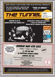 Tunnel - The New Cross & Deptford Free Film Festival