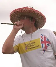 World Pea Shooting Championships at Witcham (photo Richard Marsden)