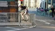 Quirky cycle races at London Nocturne 2012