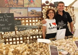 The Isle of Wight's Garlic Festival, August 2012