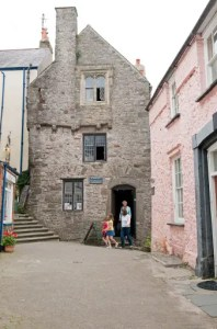 Visiting the Tudor Merchant's House in Tenby, Pembrokeshire