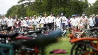 Have a wheely good time as folding bikes take to the Goodwood Motor Circuit
