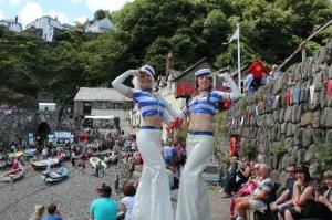 Clovelly Maritime Festival 2014