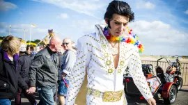 Porthcawl Elvis Festival (Photo: Juliet Eden, www.julieteden.com)