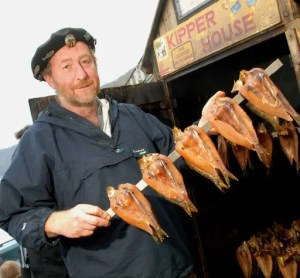 Clovelly Herring Festival - Mike Smylie, aka 'Kipperman'