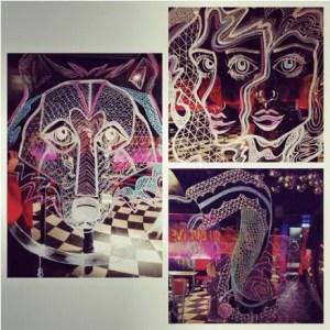 DISCO nightclub - Soho - Zoe Neilson - Artist