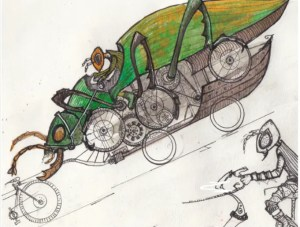 Handmade Parade - Bug bike - Kerith Ogden