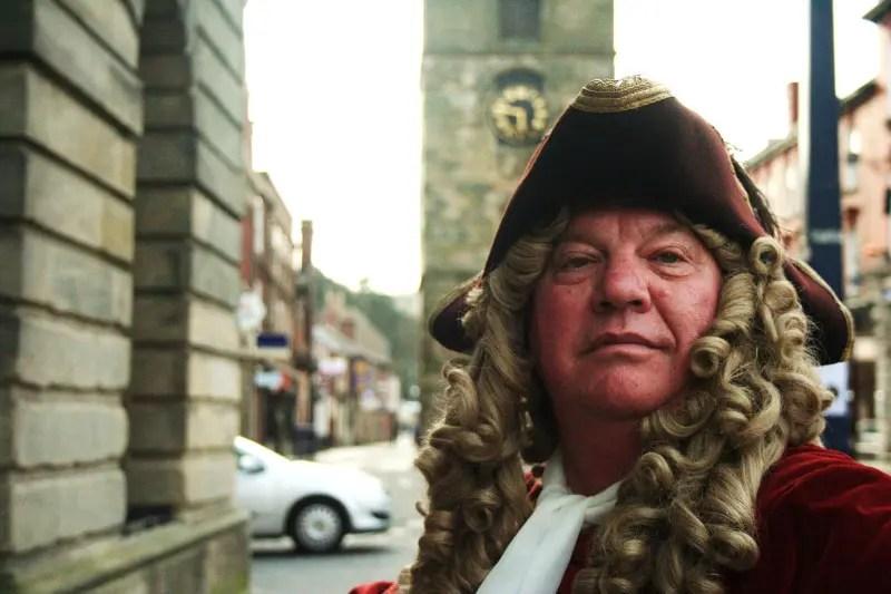 Ray Alexander as Sir John Vanbrugh - Morpeth