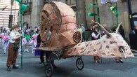 Strange and wonderful creatures appear for the Fantastical Cycle Parade