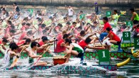 East meets West in London at the Dragon Boat Festival