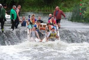 Lions Charity Raft Race 2014 - Stratford upon Avon