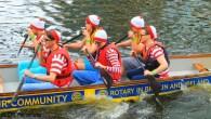 Leeds Waterfront Festival 2014 - boat race