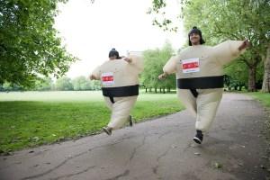 Sumo Run 2014 - Battersea Park - London