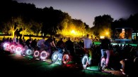 Have an Adventure in Nunhead with cycle powered cinema and a Mad Hatter's Tea Party