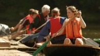 Coracle races and games in Shropshire