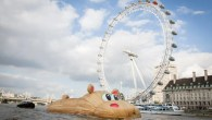 Totally Thames - Florentijn Hippo sculpture - Photo: Steve Stills