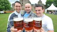 A sausage trail, waiters race and real ale trail at Ludlow Food Festival