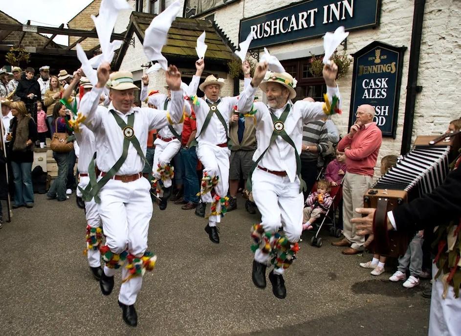 Sowerby Bridge Rushbearing - White Rose Morris Men