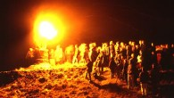 The Burning of the Clavie, a fire festival in Scotland
