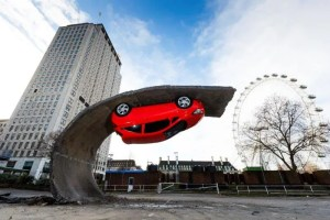 Alex Chinneck - Vauxhall - Hungerford Car Park Southbank