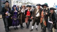 Arrr, there be scallywags at Brixham Pirate Festival