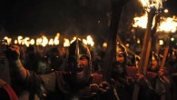Vikings, fire and longboats at Up Helly Aa