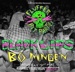 Fluffer Pit Party - Bo Ningen - London
