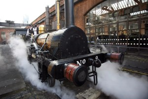 MOSI - Manchester After Hours - Hey! Manchester steam train tour