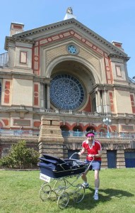 Great British Pram Race - Alexandra Palace London