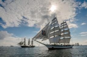 Blyth Tall Ships (Photo: Sail Training International) For more information please contact: sean.andrews@sailtraininginternational.org