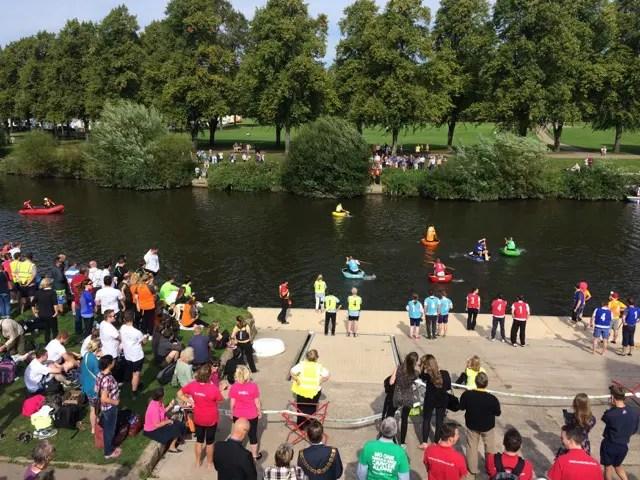 World Championship Coracle Race 2016 - Shrewsbury